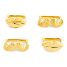 Jonathan Adler - Muse Napkin Rings, Set of 4