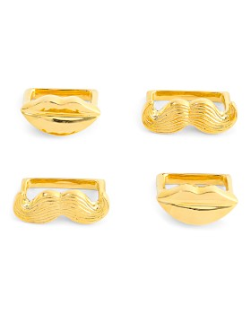 Jonathan Adler - Muse Napkin Rings, Set of 4
