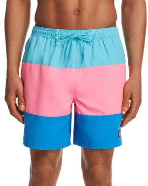 Vineyard Vines Chappy Block Stripe Swim Trunks