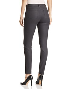 Lafayette 148 New York - Mercer Coated Skinny Jeans in Eclipse