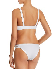 L*Space - Farrah Ribbed Bikini Top & Charlie Ribbed Bikini Bottom