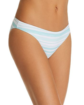 Eberjey - Annia Striped Bikini Bottom