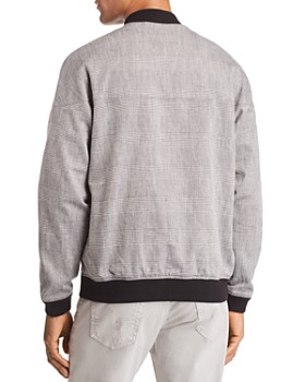 J Brand - Oliver Plaid Bomber Jacket