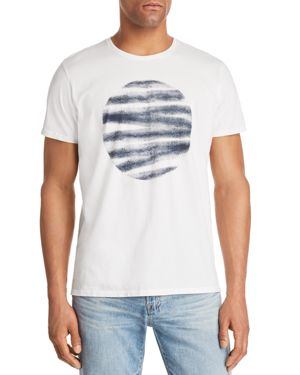 VESTIGE RIPPED CIRCLE GRAPHIC TEE