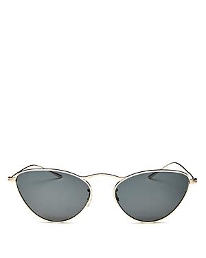 Oliver Peoples Women's Lelaina Cat Eye Sunglasses, 56mm