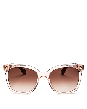 kate spade new york Women's Kiya Square Sunglasses, 53mm