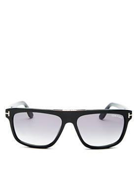 Tom Ford - Men's Cecilio Flat Top Sunglasses, 56mm
