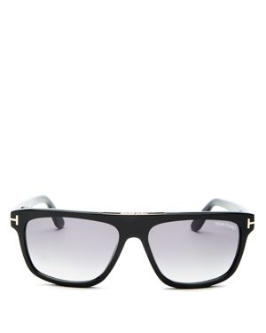 Tom Ford Men's Cecilio Flat Top Sunglasses, 56mm