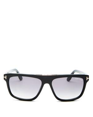 Tom Ford Men's Cecilio Flat Top Sunglasses, 56mm