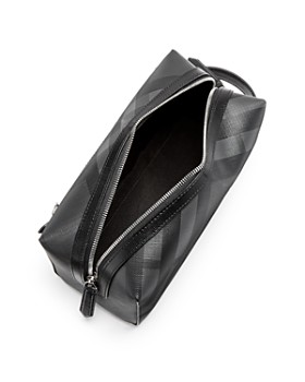 Burberry - London Check Embossed Travel Pouch