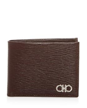 Salvatore Ferragamo - New Revival Embossed Leather Bi-Fold Wallet