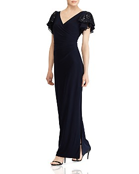 Ralph Lauren - Embellished Jersey Gown ... 12bf4a9559