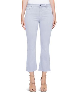 Liverpool Hannah Crop Flare Jeans in Fossil Gray 2987101