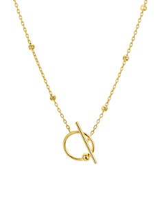 "Argento Vivo - Open Toggle Necklace, 24"""