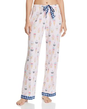 JANE & BLEECKER NEW YORK WOVEN PJ PANTS