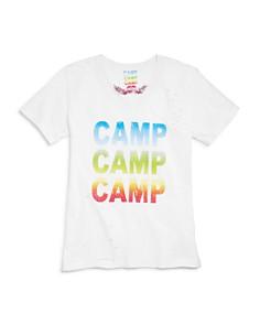 So Nikki... - Girls' Camp Distressed Tee - Big Kid