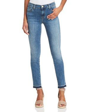 J Brand 811 Mid Rise Skinny Jeans in Delphi