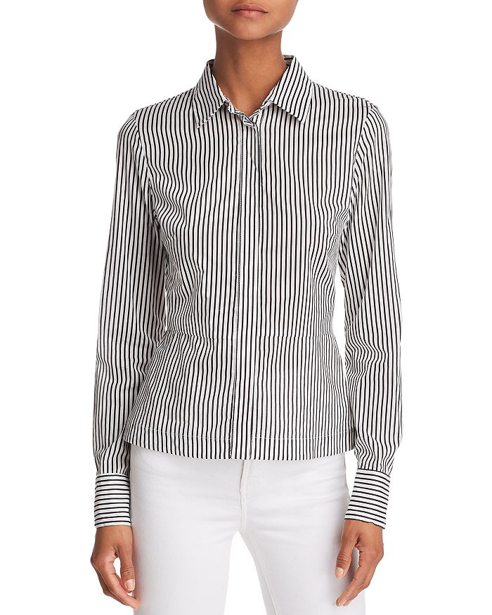 Bailey 44 - Spell On You Lace-Up Back Striped Shirt