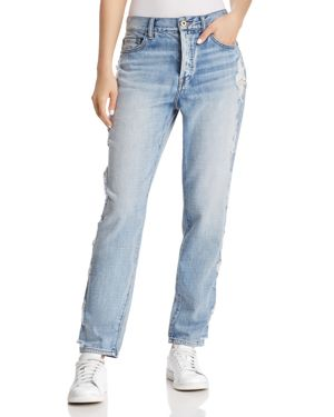 PISTOLA '90S ROLLER DISTRESSED HIGH-RISE BOYFRIEND JEANS IN FEEL IT STILL