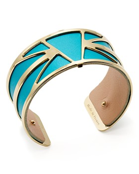 Les Georgettes - Ibiza Reversible Medium Two-Tone Open Cuff Bracelet