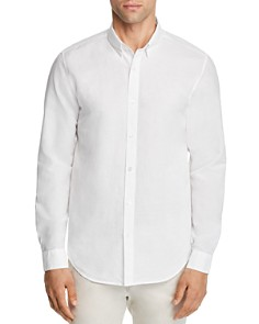 Theory Edward Essential Linen Long Sleeve Button-Down Shirt - Bloomingdale's_0