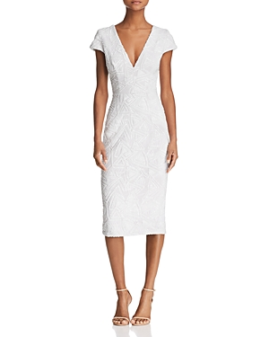 Dress the Population Allison Sequined Midi Dress