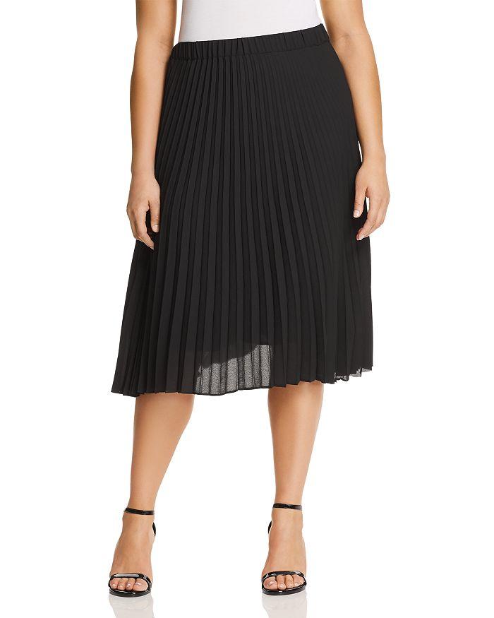 Estelle Plus - Pompidou Pleated Skirt