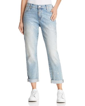 CAMERON SLIM BOYFRIEND JEANS IN CHROME CONSTELLATION