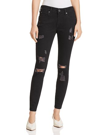 True Religion - Jennie Curvy Skinny Jeans in Bold Bedrock