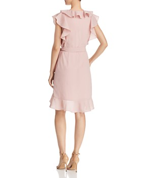 Lucy Paris - Hermosa Ruffled Faux-Wrap Dress - 100% Exclusive