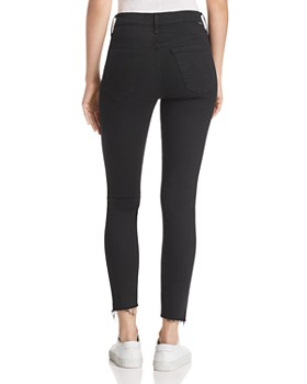 MOTHER - The Stunner Zip Ankle Jeans in Not Guilty