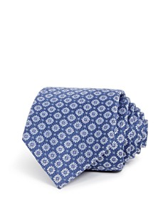 The Men's Store at Bloomingdale's Daisy Medallion Skinny Tie - 100% Exclusive_0