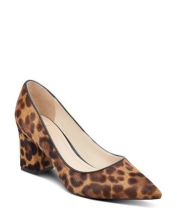 Marc Fisher LTD. - Women's Zalaly Leopard Print Calf Hair Pumps