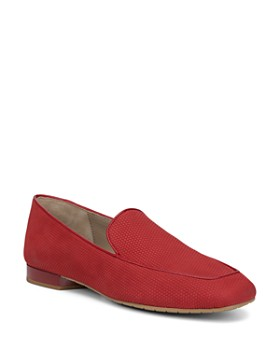 Donald Pliner - Honey Nubuck Leather Loafers