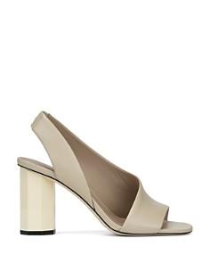 Donald Pliner - Women's Ella Leather Column Heel Sandals