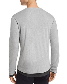 Theory - Double Layer Henley - 100% Exclusive
