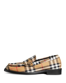 Burberry - Women's Bedmont Check Loafers
