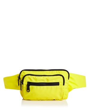SOL & SELENE Hip Hugger Belt Bag in Yellow/Black