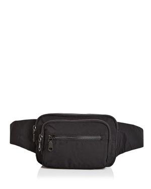 SOL & SELENE Hip Hugger Belt Bag in Black/Black