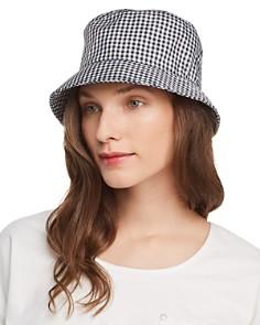 rag & bone Ellis Gingham Bucket Hat - Bloomingdale's_0
