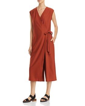Eileen Fisher Petites - Wrap-Front Jumpsuit