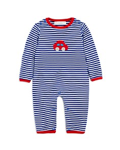 Albetta Boys' Striped Crochet-Car Coverall, Baby - 100% Exclusive - Bloomingdale's_0