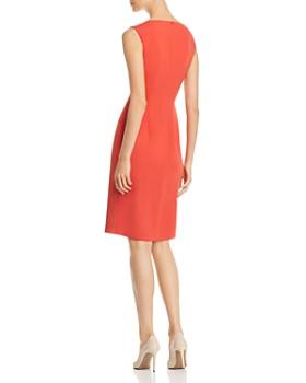 PAULE KA - Front Ruched Detail Dress