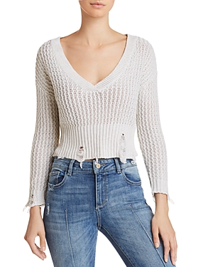 DL1961 Freeman Distressed Sweater-Women