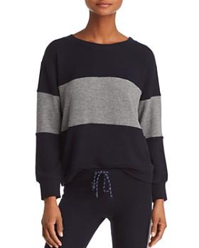 Sundry - Color-Block Sweatshirt