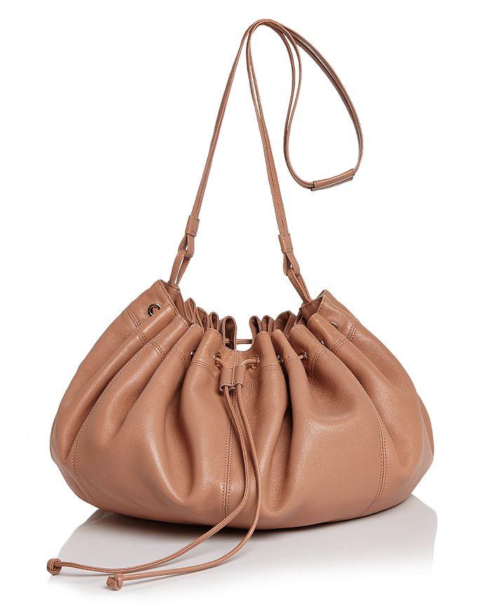 Elizabeth and James - Dex Medium Nappa Leather Shoulder Bucket Bag