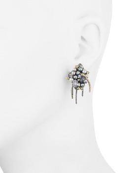 Alexis Bittar - Fringed Cluster Stud Earrings