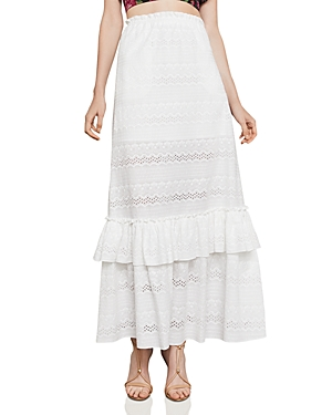Bcbgmaxazria Embroidered Maxi Skirt
