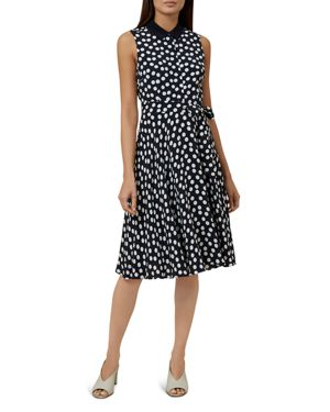 Hobbs London Belinda Polka Dot Shirt Dress