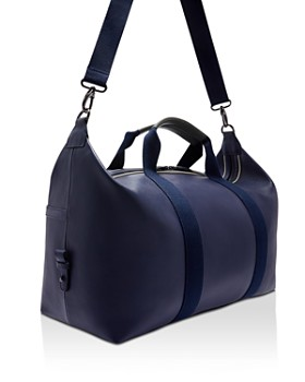 Ted Baker - Sodda Striped Leather Holdall